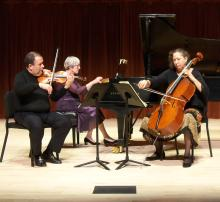 The Navarro Trio are Sonoma State's Chamber Artists-in-Residence