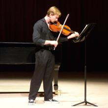 Instrumental Repertoire Recital