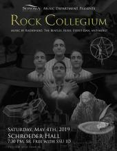 Dr John Palmer leads the Rock Collegium program and May's show featured music by RadioHead, Rush, The Beatles and Arctic Monkeys.
