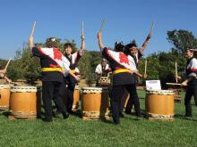 The Sonoma County Taiko drumming group