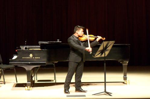 Violin soloist