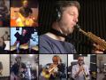 Screenshot of the Ottawa Latin Jazz orchestra via zoom