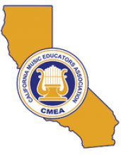 This is the CMEA, California Music Educators Association, logo