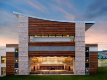 This is a photograph of the open Weill Concert Hall at the Green Music Center