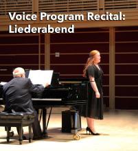 Voice Program Recital Liederabend