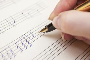 musical manuscript / notation