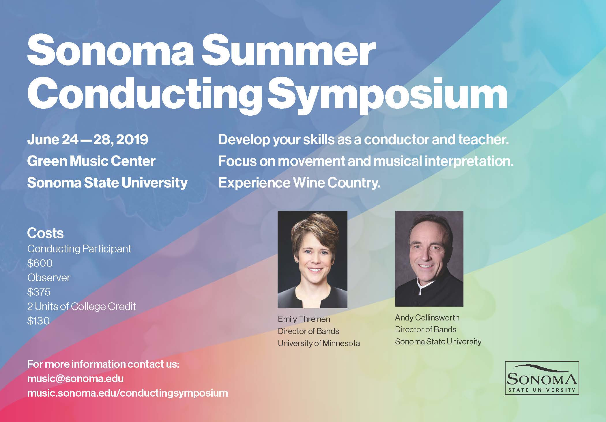 Sonoma Wind Band Conducting Workshop | Department of Music at Sonoma