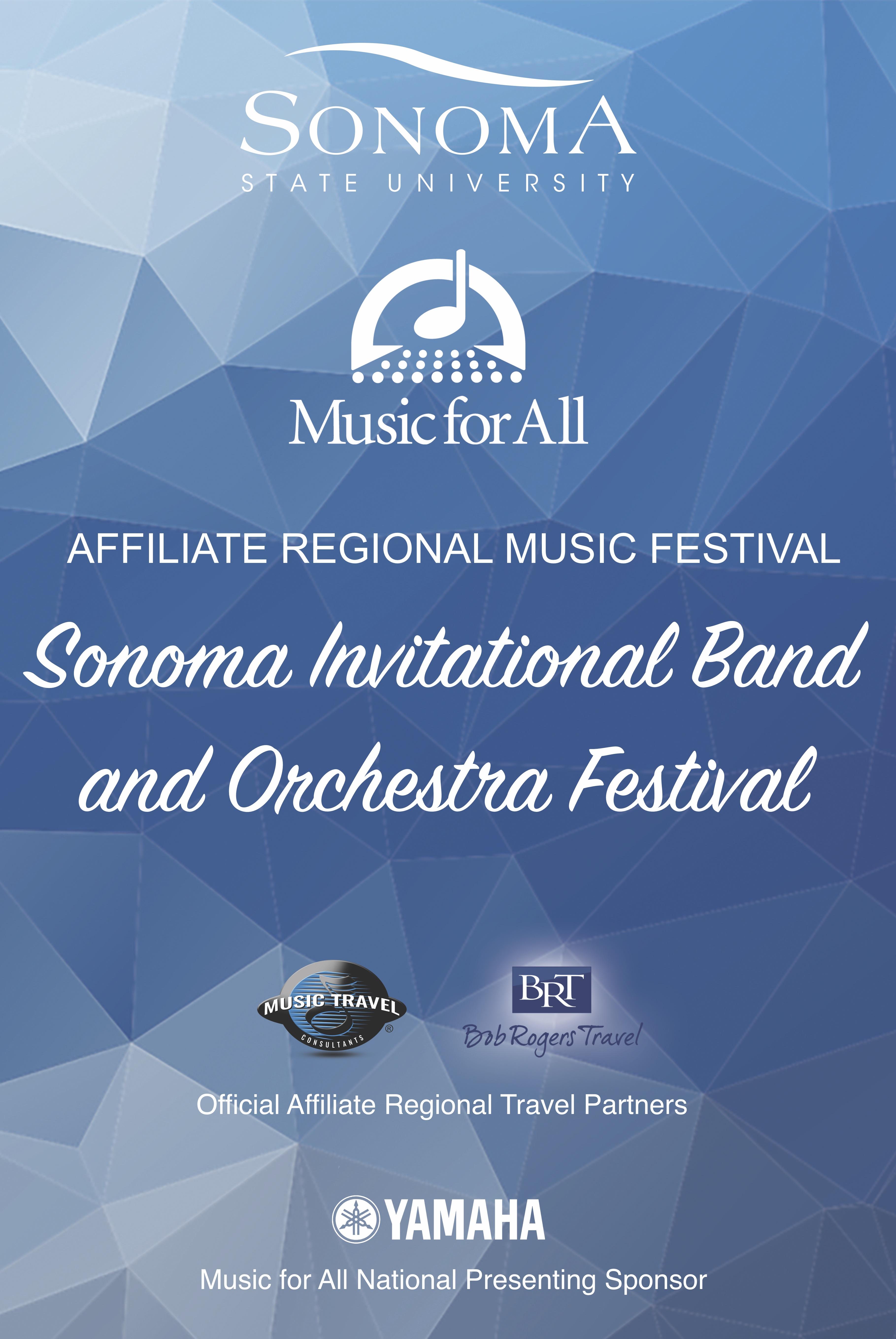 Sonoma Invitational Band and Orchestra Festival