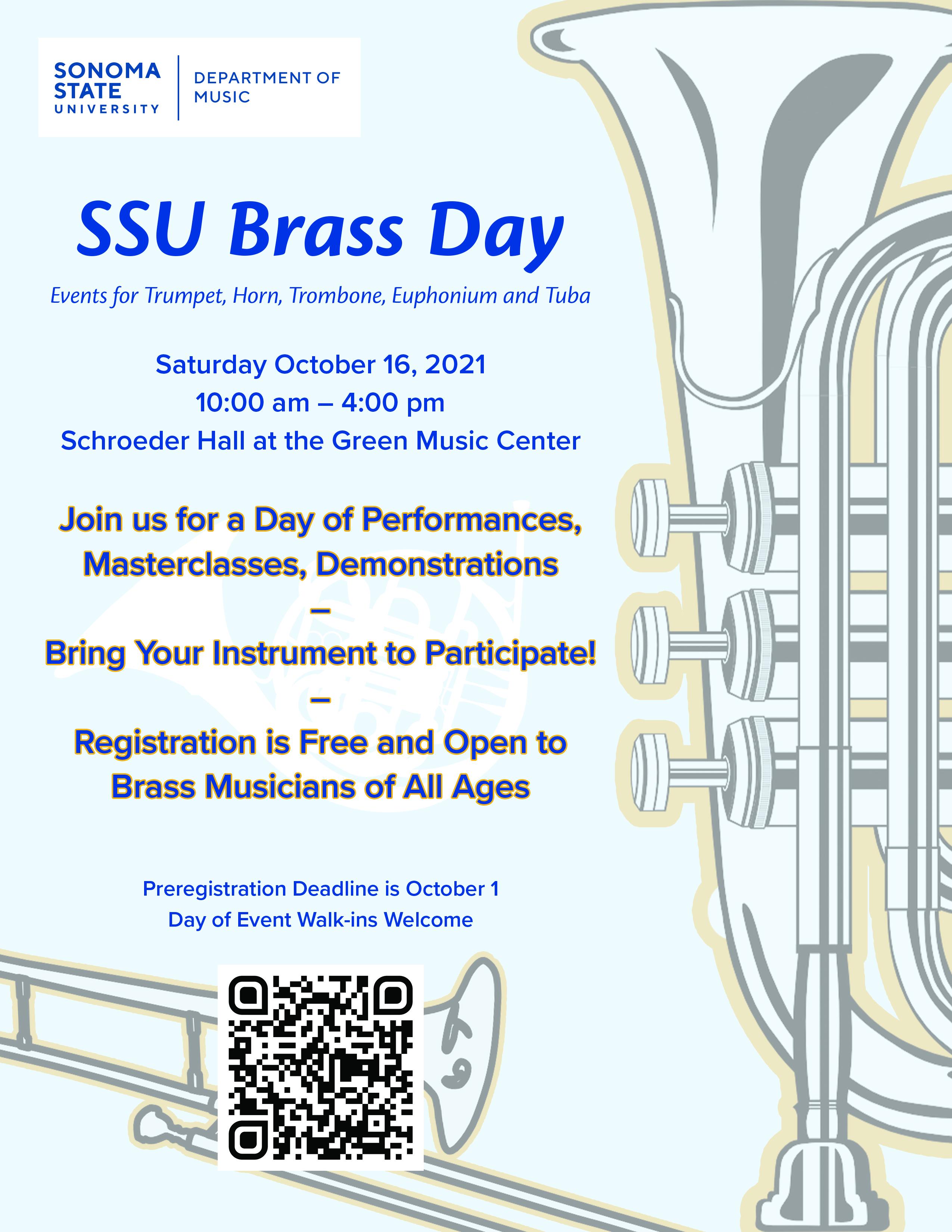 SSU Brass Day Poster